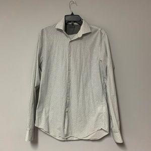 Dress or casual long sleeve button down shirt